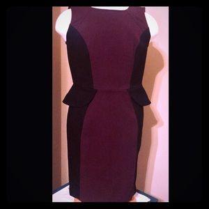 Women's LOFT peplum dress size 6